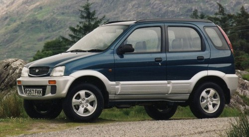 Product picture Daihatsu Terios Service Manual 2000
