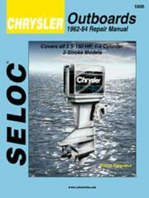 Product picture Chrysler Outboard Three and Four Cylinder Motors Manual
